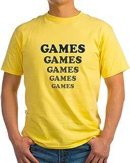 Amusement Park 'Games' Gamer Light Cotton T-Shirt