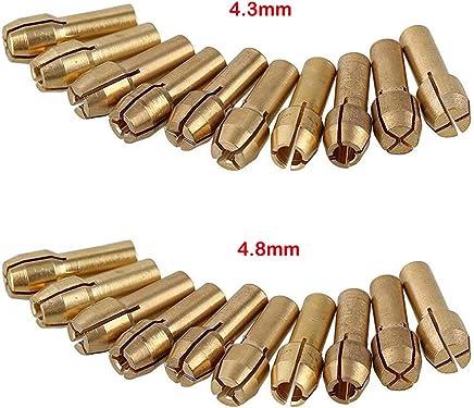 Mandrin de foret pour les outils rotatifs de Dremel tige de 0.5-3.2mm 5mm