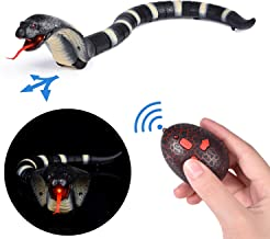 FUN LITTLE TOYS Remote Control Snake Toy, 17 Inch Rechargeable RC Realistic Snake Toy, Party Favors, Party Supplies