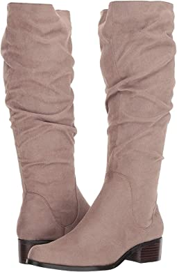 Taupe Stretch Microsuede