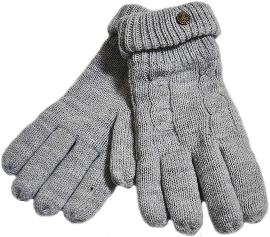 Carrolls Credence San Diego Mall Irish Gifts Man of Aran with Embossed Cable Knit Gloves