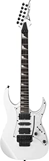 Ibanez RG450DXBWH RG Electric Guitar Bundle in White Color With Guitars Clip On Tuner and Instrument Cable - Guitars KIT with Accessories