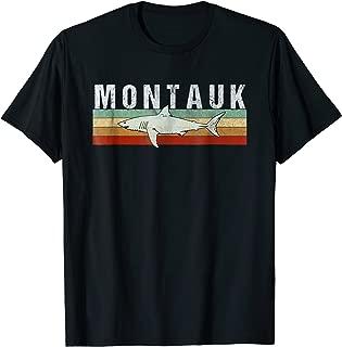 Montauk NY Shark T Shirt / Montauk Vintage Fishing Tee
