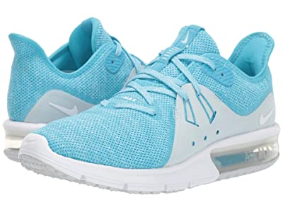 Nike Air Max Sequent 3 (Blue Fury/White/Glacier Blue) Women