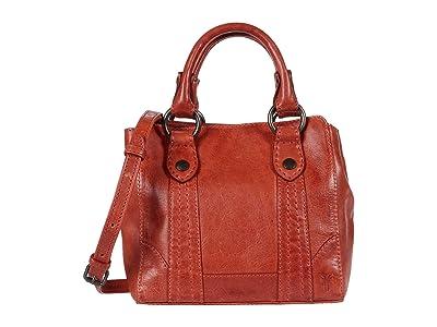 Frye Melissa Mini Tote Crossbody (Burnt Orange) Handbags