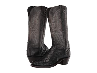 Lucchese Josephine (Black) Cowboy Boots