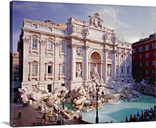 trevi fountain canvas