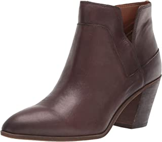 franco sarto western morocco low leather booties