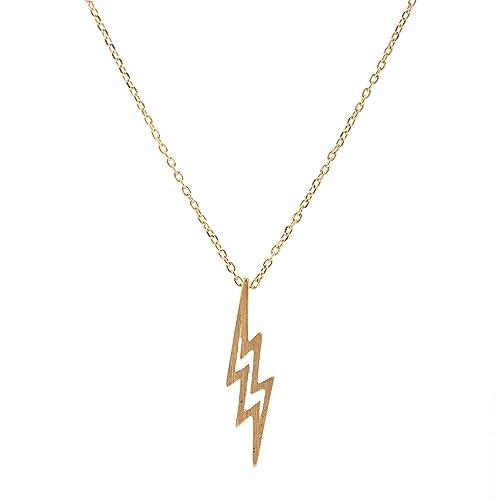 700539623ce chelseachicNYC Handmade Lightning Bolt Necklace