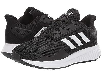 adidas Kids Duramo 9 Wide (Little Kid/Big Kid) (Core Black/Footwear White/Core Black) Boy