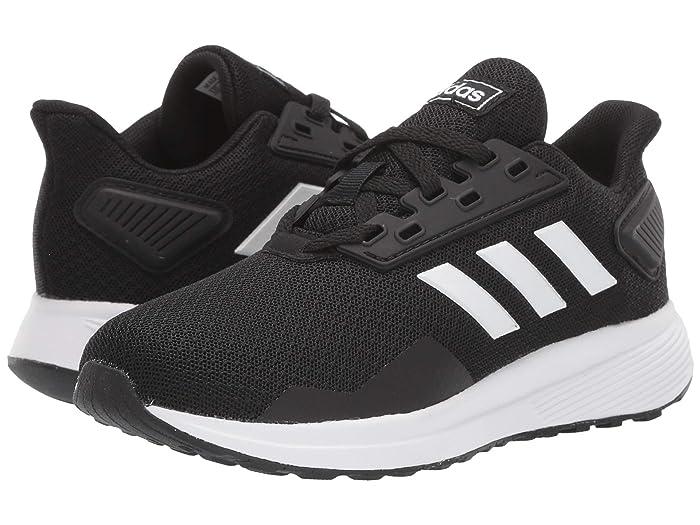 adidas Kids  Duramo 9 Wide (Little Kid/Big Kid) (Core Black/Footwear White/Core Black) Boys Shoes