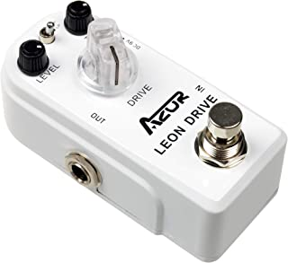 AZOR AP-316 Leon Ultimate Drive Overdrive Guitar Effect Pedal With Ture Bypass
