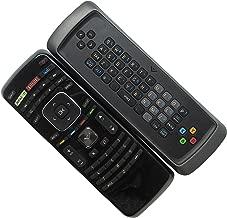 HCDZ Replacement Remote Control with Amazon Netflix Vudu Buttons Keyboard for Vizio VOJ320M VOJ370F VL370M VO22L E320-AO VO22LF LCD Plasma LED HDTV TV
