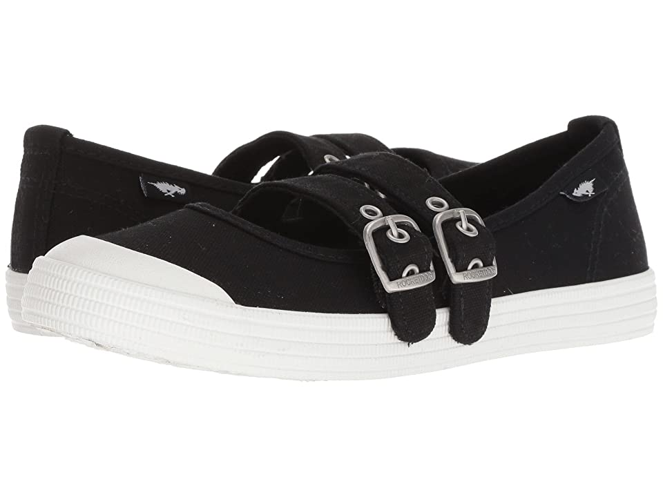 Rocket Dog Cool It (Black 8A Canvas) Women