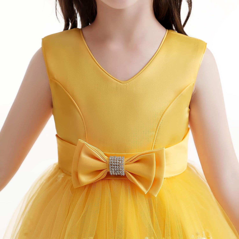 jetfree Dress for Girls Flower Girls Wedding Girls Dress Birthday Party Dress …