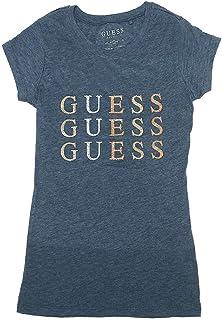 [ゲス]Tシャツ アウトレット GUESS Q75I27R00Q0 DIANA REPEAT LOGOーHTR レディース トップス [並行輸入品]