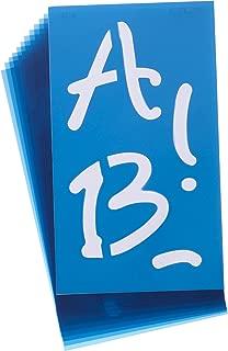 Acme Alphabet Stencils, 4-Inch, Angelina Script, 100-Pack