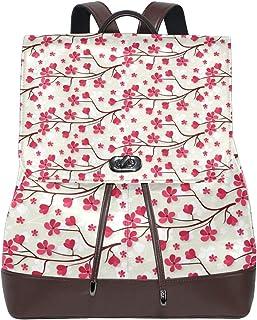 FANTAZIO Mochila Artistic Cherry Blossom Bolsa de Viaje