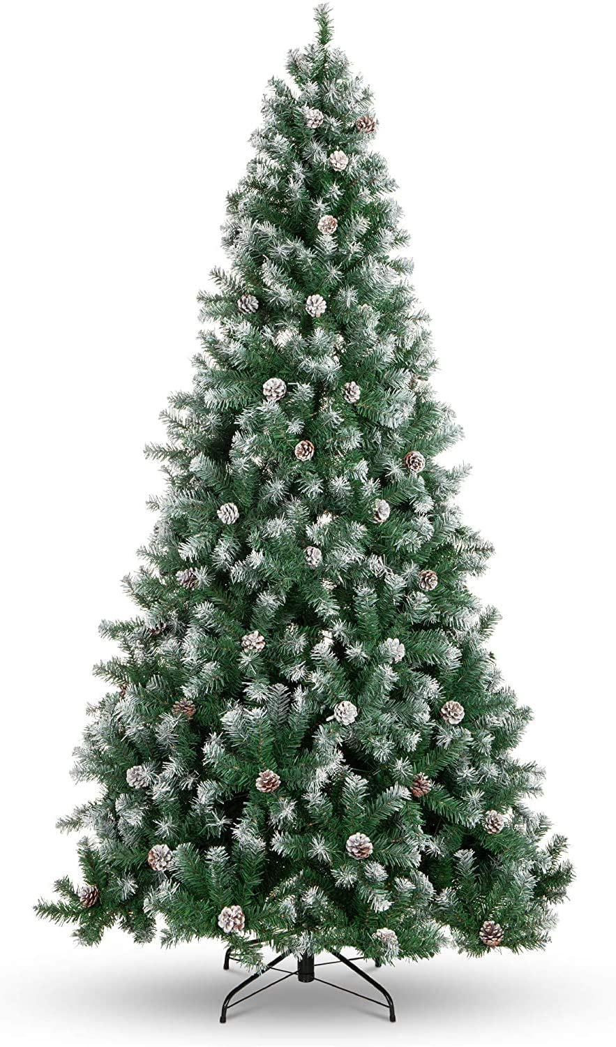 Strong Camel 7.5' Green Max 48% OFF Snow Max 77% OFF Tipped with pinec Tree 42 Christmas