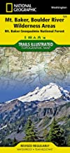 Mount Baker and Boulder River Wilderness Areas [Mt. Baker-Snoqualmie National Forest] (National Geographic Trails Illustrated Map (826))