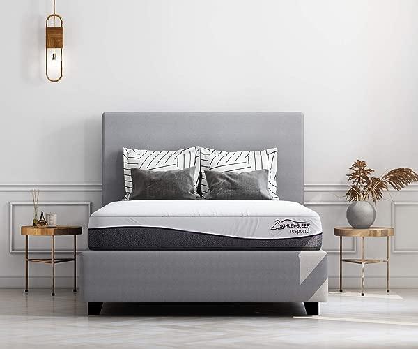 Ashley Furniture Signature Design 12 Inch Foam Hot Buy Queen Mattress White