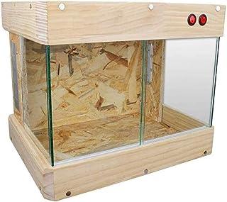 ハムスター ケージ 巣箱 Hamster Cage ハムスター 家 断熱給餌ビバリウムボックス広々とした繁殖タンクポータブル交通ボックスペットショップホームボックス ペットのおもちゃ YYDD (Size : 43*31.5*33cm)
