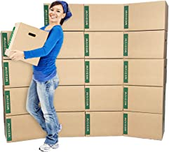"""Medium Moving Boxes with Handles Pack of 20 – 18""""x14""""x12"""" – Cheap Cheap Moving Boxes"""