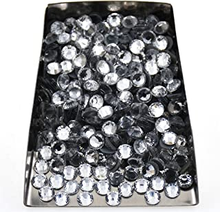 288pcs Hotfix Quality Crystal Rhinestones Flatback Nail Art Pick Color (Crystal, 30ss 288pcs)