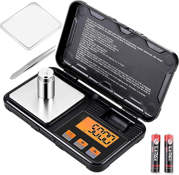394 opinioni per Supkitdin Bilancia Digitale, Cucina Bilancia Tascabile 200g /0.01g, Display LCD,