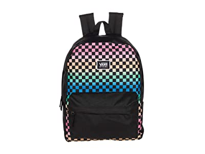 Vans Realm Classic Backpack (Gradient Check) Backpack Bags