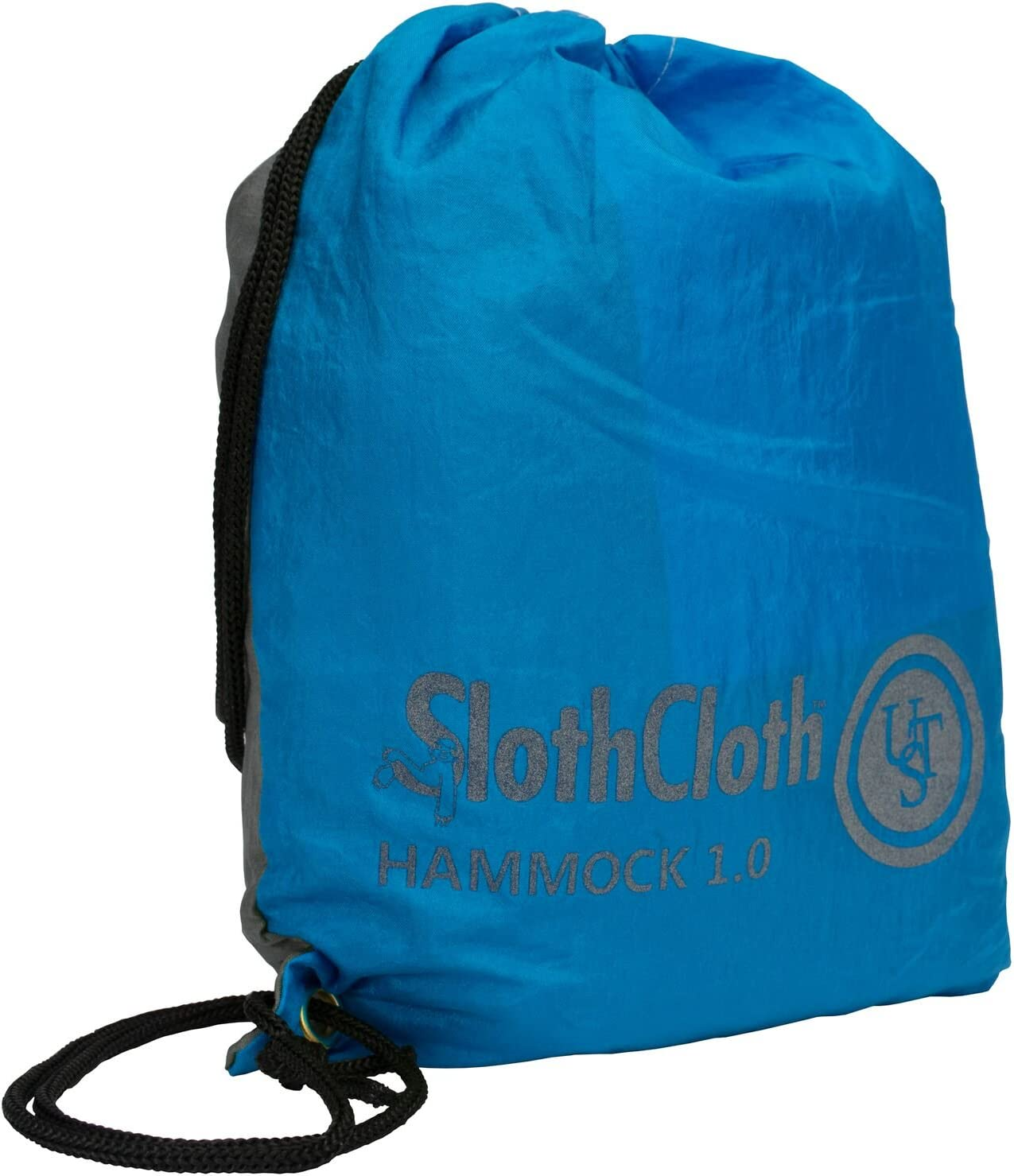 Breathable Mesh and Attached Travel Bag for Camping Backpacking and Outdoor Survival UST SlothCloth 1.0 Single Hammock with Portable Lightweight Design