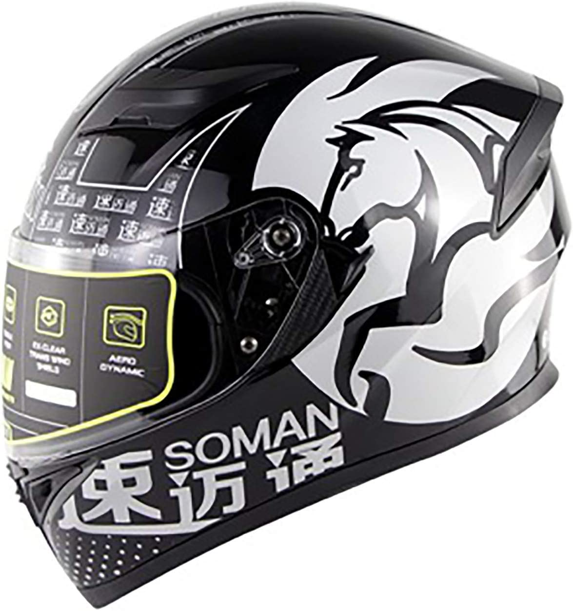 Full Dedication Face Motorcycle Helmet DOT Str ECE Approved Popularity Motorbike Moped