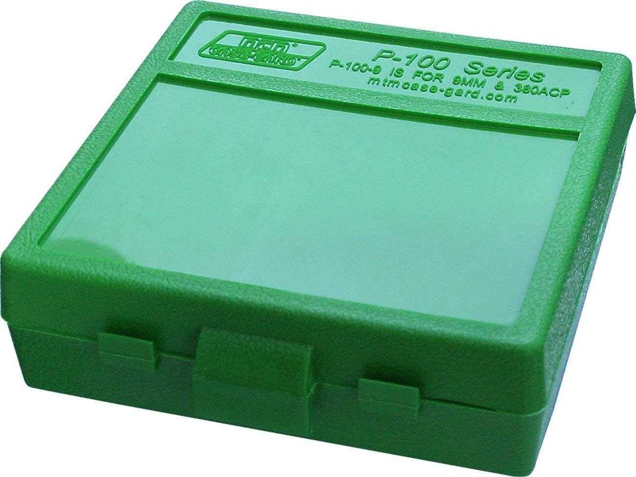 Ranking TOP11 MTM Plastic Ammo Ranking TOP7 Box Green 380 100 Round 9MM