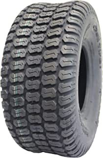 Deli Tire S-374, Turf Tread, 4 Ply, Tubeless, Lawn and Garden Tractor Tire (16x6.50-8)