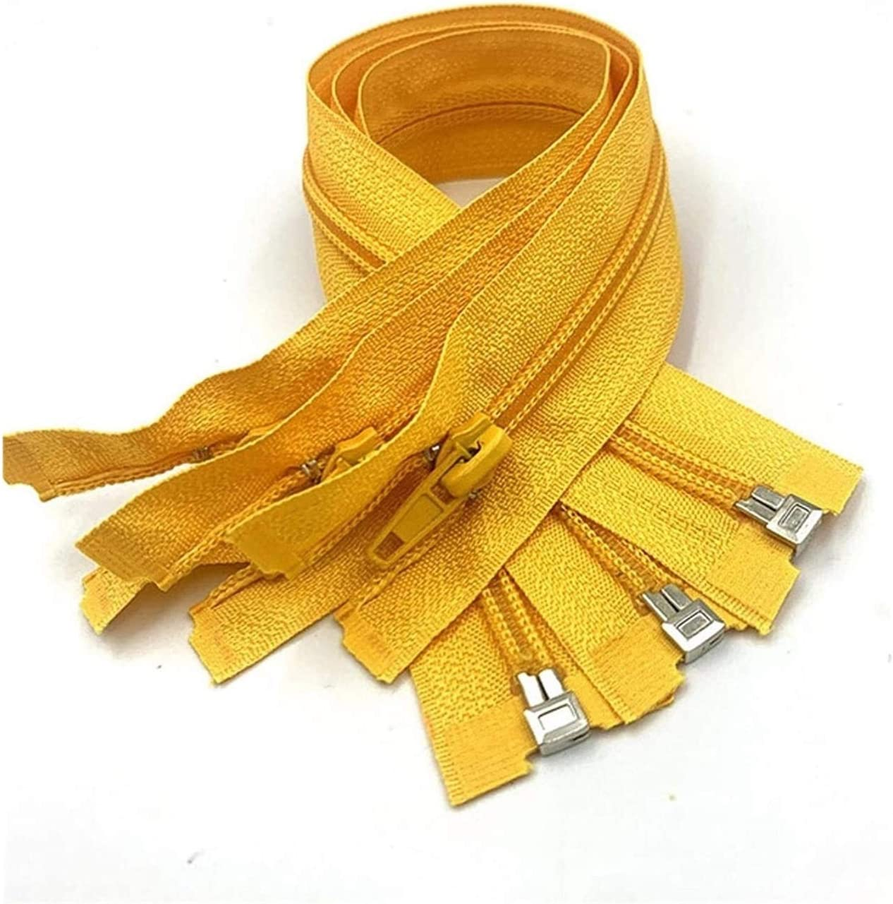 Decorative Zipper Open-End Nylon Coil Zippers for Sewing Nylon Z