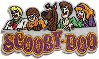 Scooby Doo Cast with Name Embroidered Iron on Patch