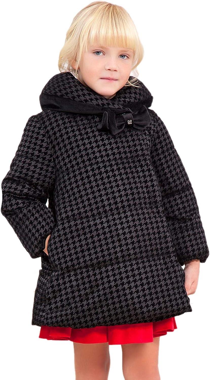 Abel & Lula - Reversible Coat for Girls - 5830, Black