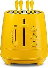 Dè Longhi CTLAP2203.Y broodrooster met tang, kunststof, geel