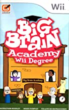 Big Brain Academy - Wii Degree Wii Instruction Booklet (Nintendo Wii Manual Only - NO GAME) [Pamphlet only - NO GAME INCLUDED] Nintendo