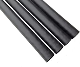 Abester 3K Matt Carbon Fiber Tube ID 8mm x OD 10mm x 500mm for Multi-axis Aircraft (1 Piece)
