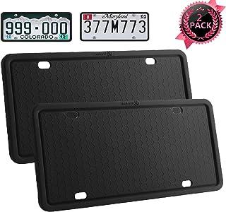 Ahzi Silicone License Plate