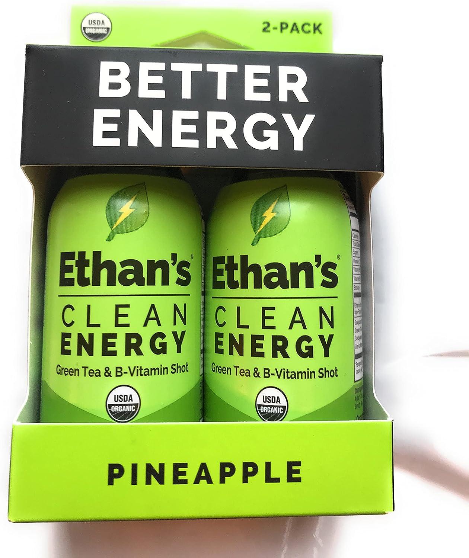 ETHANS Pineapple Aloe Energy FZ Shot depot Industry No. 1 2