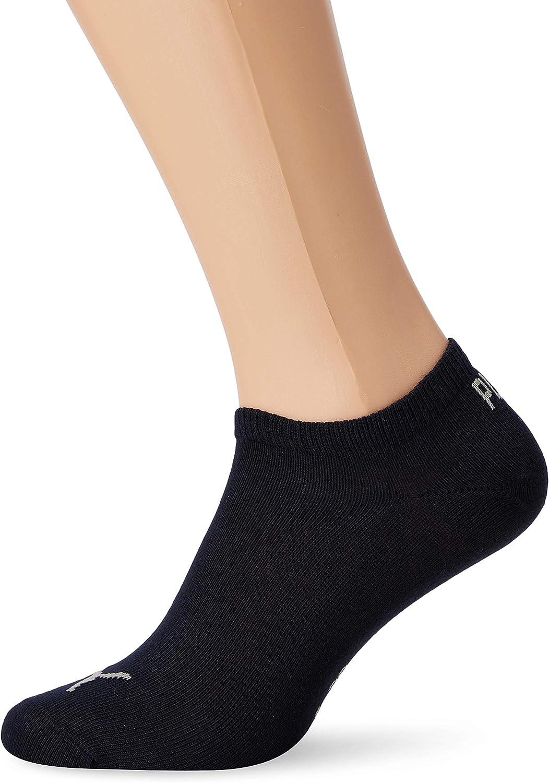 Puma Invisible Sportive Sneaker Sock (3 Pair Pack), Navy/grey/nightshadow Blue