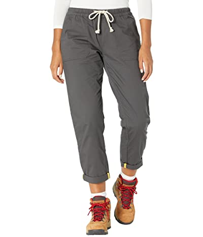 PACT Organic Cotton Woven Roll-Up Pants