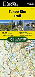 Tahoe Rim Trail (National Geographic Topographic Map Guide)