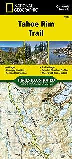 Best map tahoe rim trail Reviews