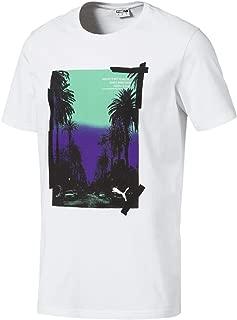 Puma Graphic Palms Photo Tee Erkek T-Shirt