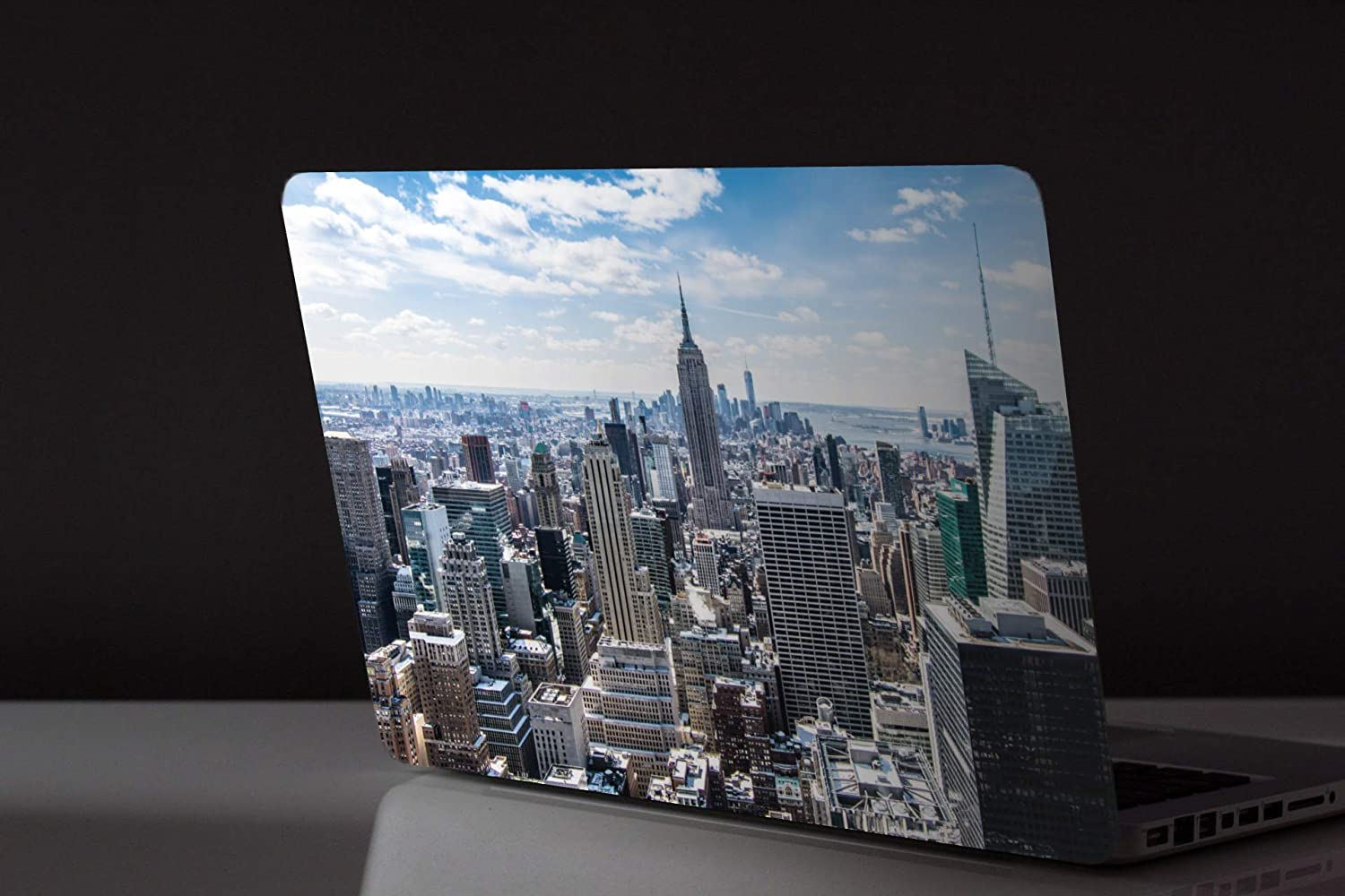 15.6 inch 15 inch Laptop Skin Vinyl Decal with Colourful Patterns with Matt Finish Basketball Sunset