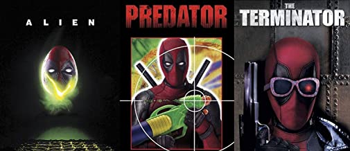 Creatures from Another Time and Space that Deadpool Kills - Slipcover Exclusive Series Alien vs Predator vs The Terminator 3-Blu-ray Bundle