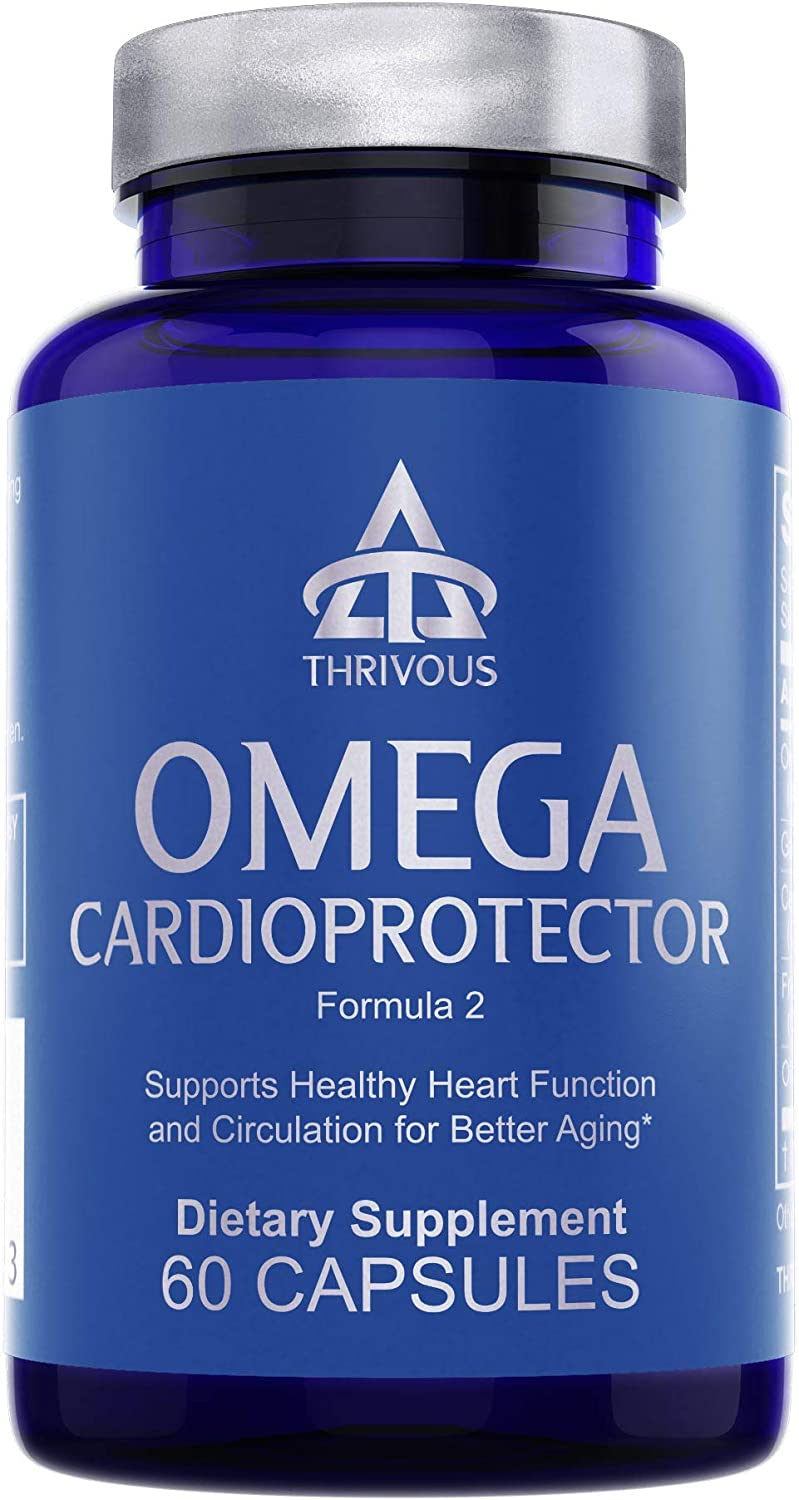 Nippon regular agency Thrivous Omega - Heart Support Store Cholesterol Healthy Supplement